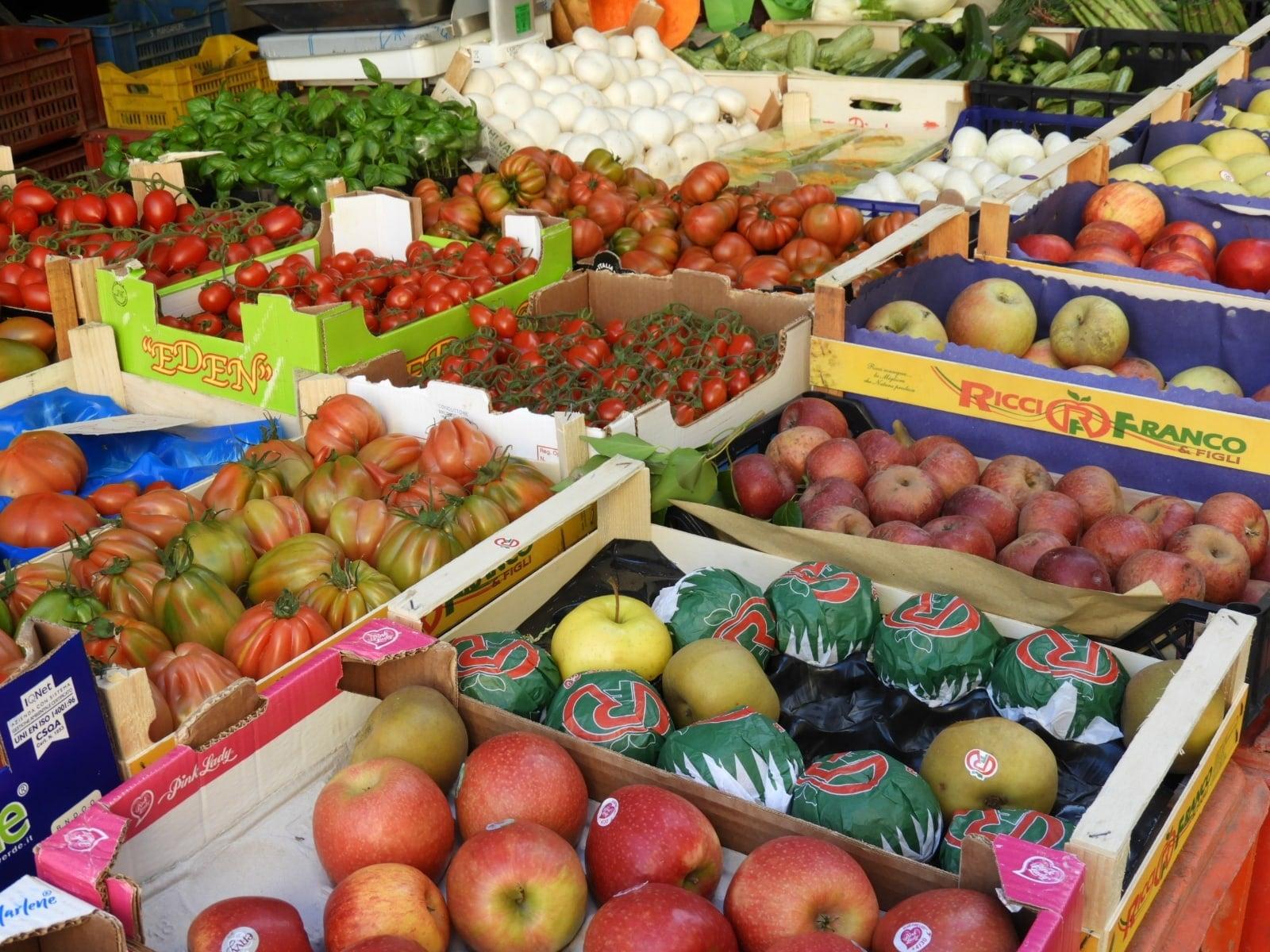 Farmers Markets Sardinia